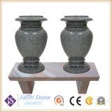 Decorating Headstone와 Monument를 위한 G654 Granite Stone Vase