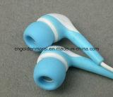 Écouteurs avec muffette en silicone avec des boutons d'oreille confortables en gros