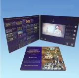 Карточки предварительного экрана LCD таможни приветствуя видео- от Китая