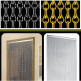 Elo da cadeia do alumínio arvorando Bug Inseto cortina de porta