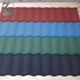 Revêtement de pierre pré-peint de couleur feuille de toiture pour Villa Roofing