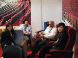 درجة خاصّ علبيّة جديدة بسيطة [بو] قاعة اجتماع كرسي تثبيت من [هونغجي] مقادة [هج9918]