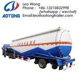 3 Wellen-umfangreicher Tanker-Masse-Kleber-Tanker-LKW-halb Schlussteil