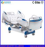 ISO/Ce het Goedgekeurde Bed van de Verzorging van het Ziekenhuis van de Apparatuur ICU van de Luxe Elektrische Medische