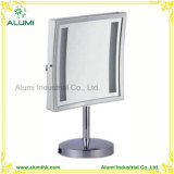 Miroir d'agrandissement carré à simple face avec l'éclairage LED
