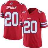 Pullover di gioco del calcio personalizzato Graham di Sammy Watkins Brandon Tate Corey della Buffalo