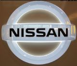 자동차 대리점을%s 주문 전문가 3D LED 차 로고 Signage