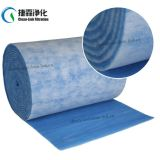 Admission d'air coton bleu et blanc pré-filtre pour cabine de pulvérisation