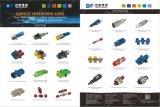 Multi-Mode Koppeling van de Vezel van de Vierling LC/Upc/de Optische Adapter van de Vezel met Flens