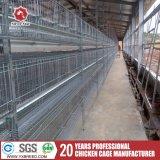 Amplio espacio de la capa de tipo H jaula para granja Poutry
