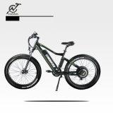 велосипед снежка 26X4 электрический с спрятанной батареей