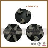 Fiche de meulage de diamant concret d'étage pour la rectifieuse de Floorex