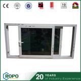Doppia finestra di plastica del cursore della lastra di vetro che impila Windows ed i portelli