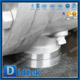 Vávula de bola descubierta del muñón del vástago del acero inoxidable 304 de la carrocería del molde de Didtek