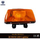 Ámbar de 48 pulgadas de la barra de luz LED en DC12V