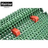 Convoyeur à courroie en plastique modulaire Hairise fabricants utilisés dans l'industrie de la viande
