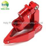 De productie van CNC Geanodiseerde Klem die van de Lijn van de Motorfiets van het Aluminium Delen machinaal bewerken