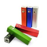 선물을%s 무료 샘플 2200mAh 다채로운 선전용 USB 충전기 Powerbank