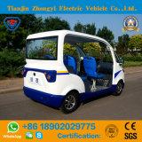 Heißer Verkauf Mini4 Seater weg vom Straßen-elektrischen Streifenwagen mit Cer-Bescheinigung