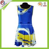 Сублимации пригонки верхнего качества платье форм Netball сухой изготовленный на заказ дешевое