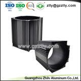 De zwarte Geanodiseerde Uitdrijving van het Aluminium voor Heatsink