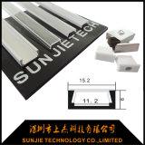 Profil de LED avec micro aluminium 11 mm de largeur interne pour bande LED (SJ-ALP1506)
