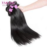 Preço por grosso Tecelagem de fio de cabelo Peruano Virgem cabelos lisos naturais