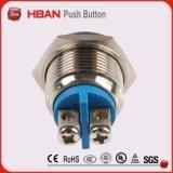 Hban 16мм Кратковременное кнопочный переключатель