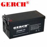 12V 200Ah batería de alta temperatura de la batería de UPS de telecomunicaciones de batería solar de silicio de la batería La batería de coloide