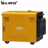 5 квт Silent красный цвет дизельный генератор (DG6500SE)