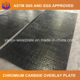 Placa de acero revestida en duro del carburo del cromo