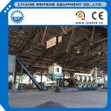 Ligne en bois de presse à mouler de boulette de la CE/usine en bois de boulette avec COM