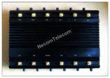 Nieuwste Krachtige GPS VHF van WiFi van de Telefoon van de Cel van de Stoorzender 3G 4G UHFLojack rf 315-433-868, 6 Duble GPS van WiFi van Banden/12 Antennes de Stoorzender van de Afstandsbediening