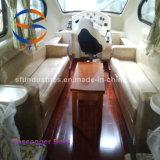 barco de pasajero del barco de placer del barco de la velocidad de la fibra de vidrio del 14.28m