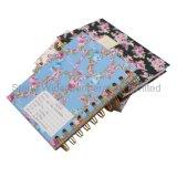 Custom дневник, спираль канцелярские жесткий крышку ноутбука
