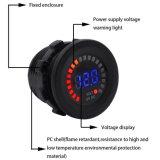 des Fahrzeug-12V Voltmeter-Messinstrument-Kontaktbuchse Auto-des Motorrad-LED Digital