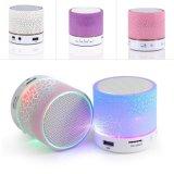 Mini Patrón de grieta de luz LED inteligente colorido de los altavoces inalámbricos altavoz portátil Bluetooth