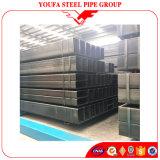 建築材料の黒カーボン鉄の正方形の管の長方形の鋼鉄管