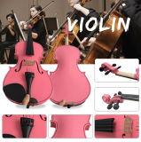 Commerce de gros prix bon marché étudiant de contreplaqué Rose violon