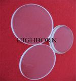 Pulido de alta calidad óptica Jgs ronda3 discos de cuarzo claro