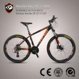 Bici di montagna della lega di alluminio della fabbrica 24-Speed Altus M310 della bicicletta della Cina