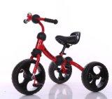 O bebê do modelo novo caçoa o triciclo de crianças da criança com Ce
