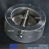 Aço fundido Wcb Discwafer único de giro da válvula de retenção