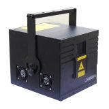 Laser colorido de Rgby do laser pequeno da potência com sistema de som