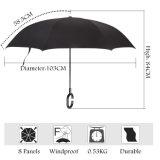 8 costelas de boa qualidade X 23no guarda-chuva reta com impressão de logotipo