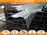 6063 perfis de alumínio de Extusion do frame da porta deslizante do revestimento quente do pó da venda