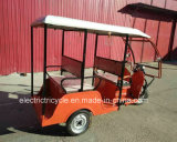 Elevadores eléctricos de três rodas para passageiros Rickshaw