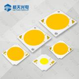 고능률 3000K는 백색 높은 CRI 90 3W 옥수수 속 LED 칩을 데운다