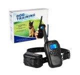 Colar controlo remoto do treinamento do cão, recarregável