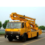 14m-18m 4X2 Aerial Hydraulic Lifting Platform 16m Shear Fork Type Aerial Bucket High Altitude Operation Work Truck Overhead Working Truck